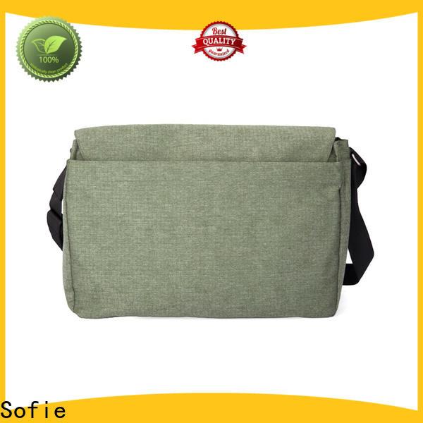 nylon shoulder straps briefcase laptop bag supplier for travel