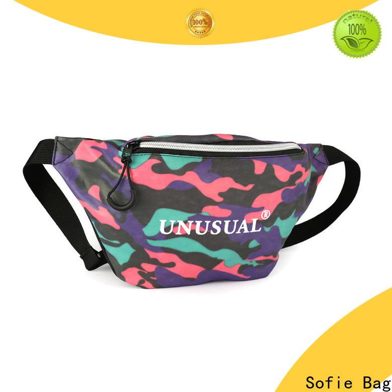 polyester belt waist pack supplier for jogging