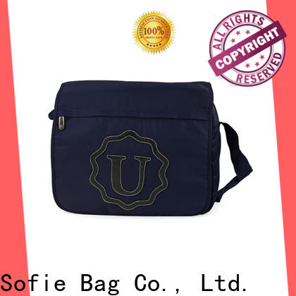 polyester business shoulder bags customized for office