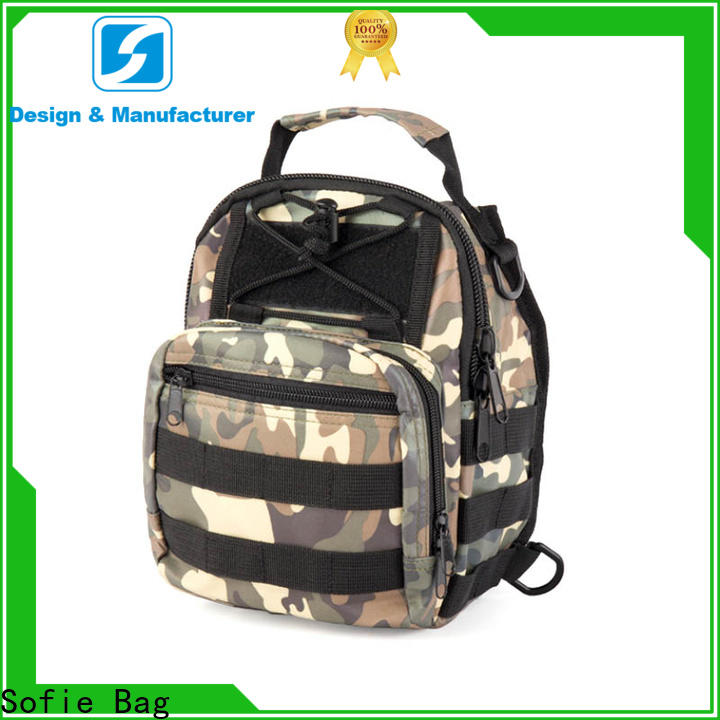 Sofie light weight military chest bag series for going out