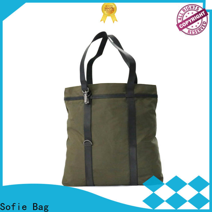 Sofie shopping bag customized for men