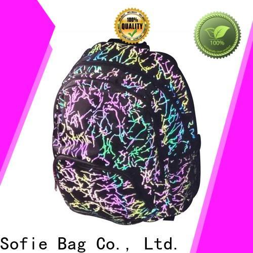 Sofie school backpack series for packaging