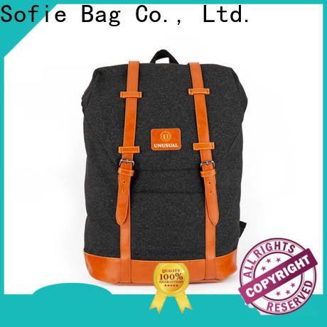 Sofie melange backpack manufacturer for travel