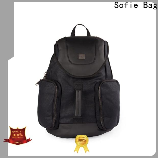 Sofie knitted fabric cool backpacks wholesale for college