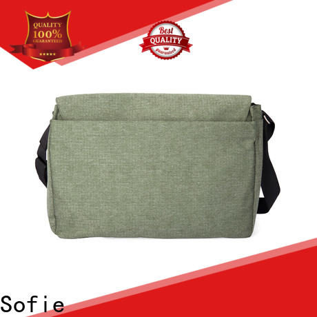 Sofie durable shoulder laptop bag series for office