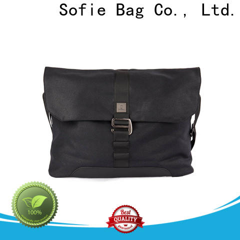waterproof waxed laptop business bag factory direct supply for men
