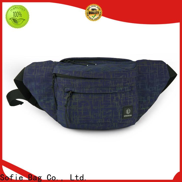 convenient sport waist bags factory price for jogging