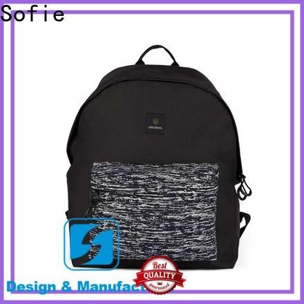 wrinkle printing canvas backpack wholesale for travel