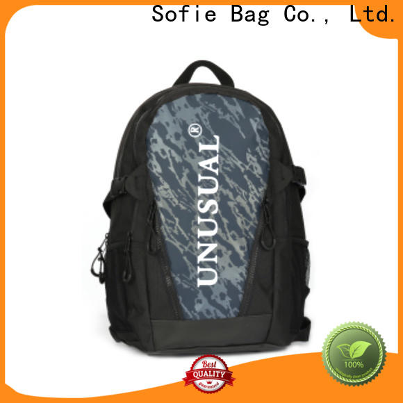 large capacity canvas backpack personalized for business