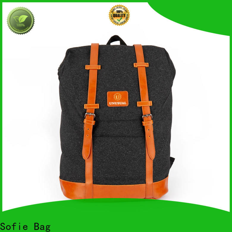 Sofie high quality mini backpack manufacturer for travel