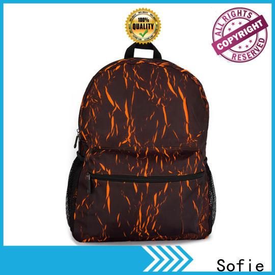Sofie melange sport backpack wholesale for college
