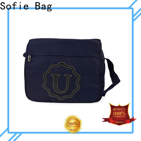 Sofie blue business messenger bag manufacturer for women