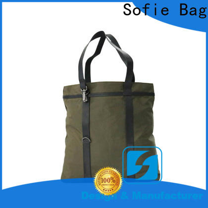 Sofie tote bag customized for men