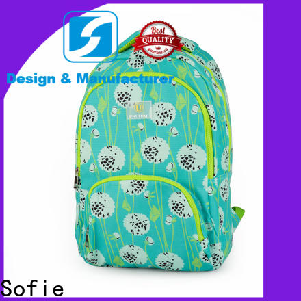 Sofie fashion school backpack supplier for packaging