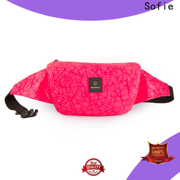 Sofie sport waist bags supplier for decoration
