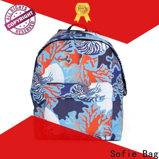 Sofie students backpack supplier for packaging