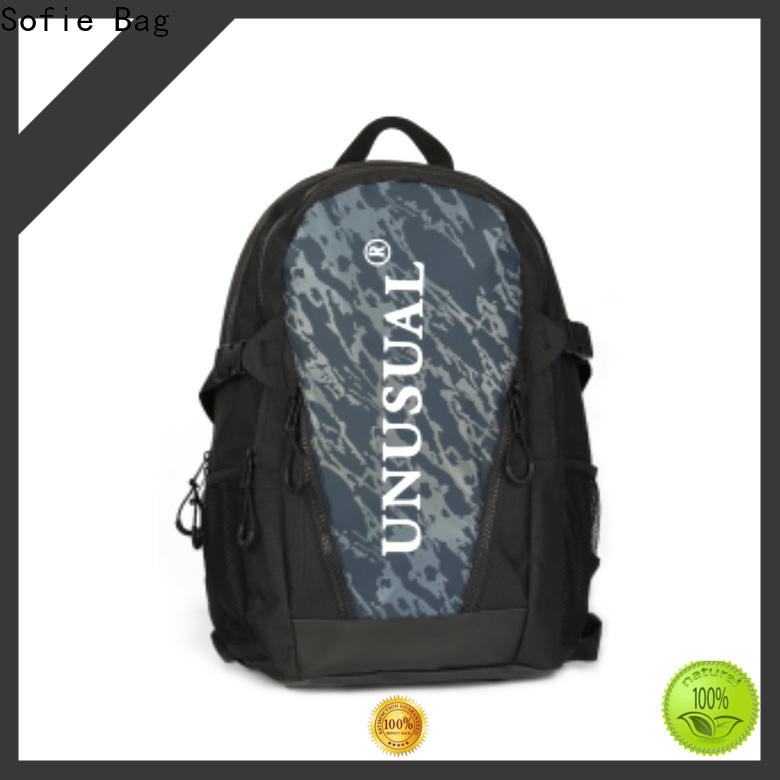 back pocket stylish backpack personalized for college