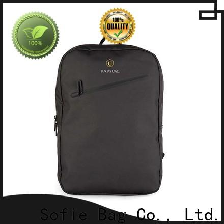 Sofie thick pipped handle shoulder laptop bag supplier for men