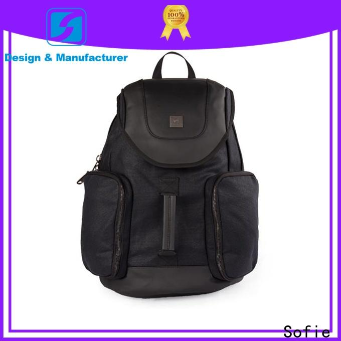 Sofie large capacity casual backpack manufacturer for school