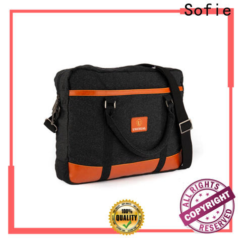 Sofie shoulder laptop bag factory direct supply for office
