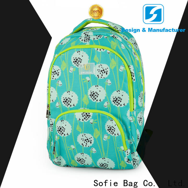 Sofie pink school bags for boys supplier for packaging