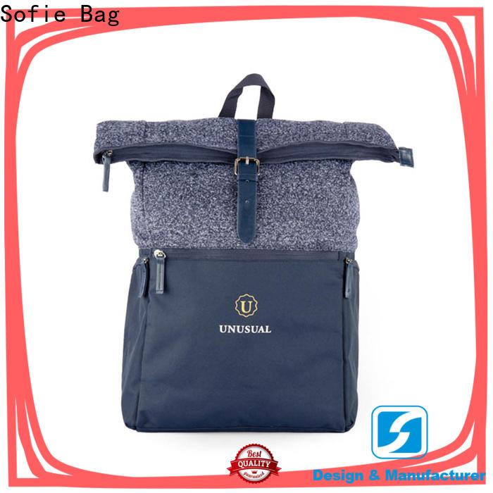 back pocket laptop backpack customized for business