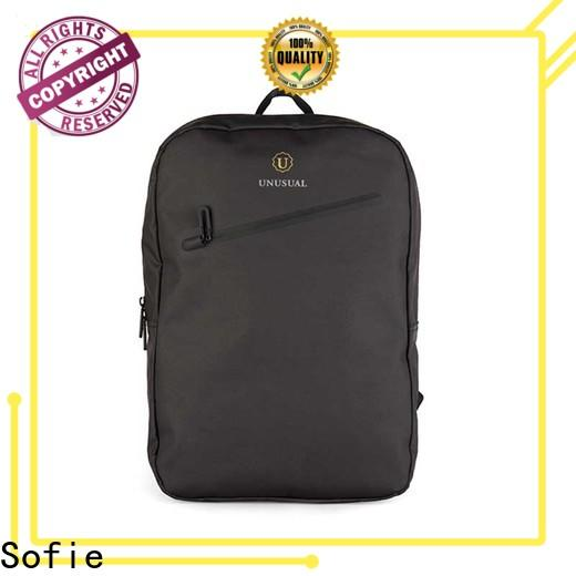 Sofie waterproof waxed laptop business bag supplier for office