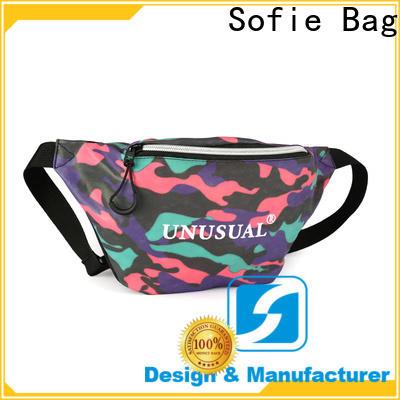 polyester belt waist pack wholesale for jogging