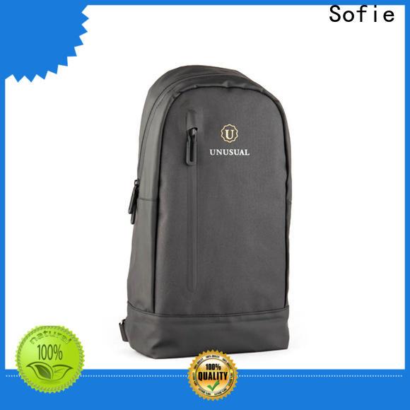 Sofie rectangular design military chest bag series for men