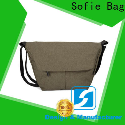 Sofie popular cross body shoulder bag manufacturer for school