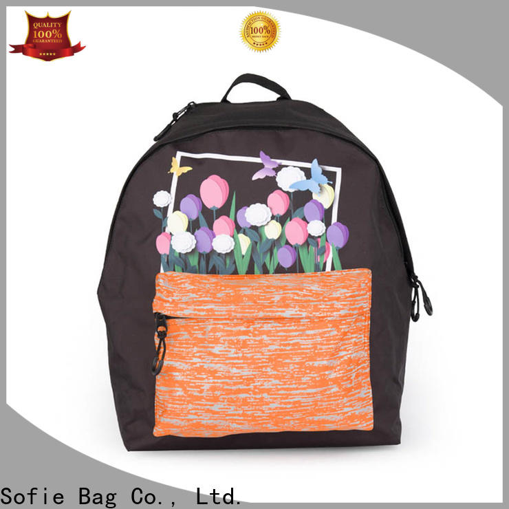 with TPU reflective hat school backpack series for children