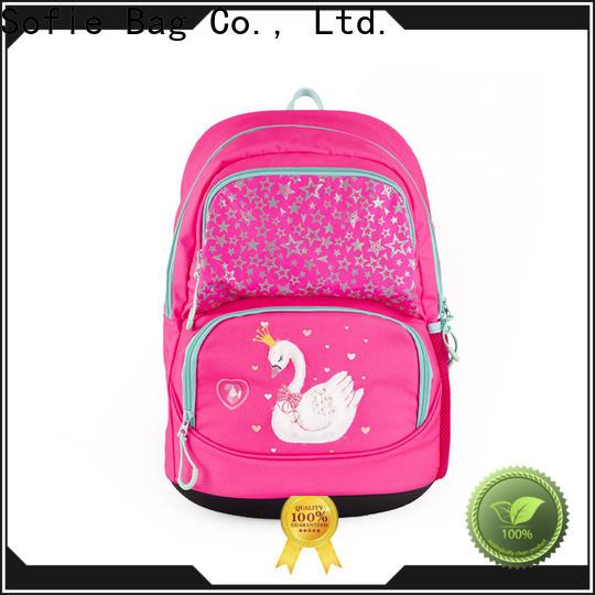 ergonomic shoulder strap school bags for kids supplier for children