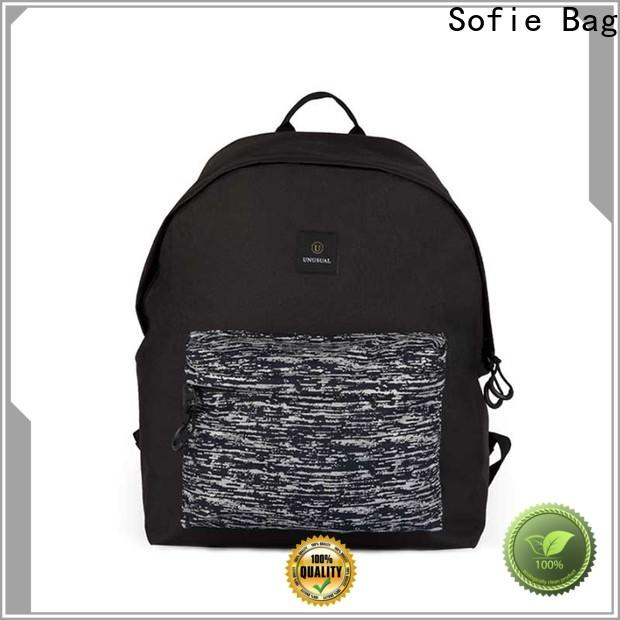 large capacity reflective backpack customized for school