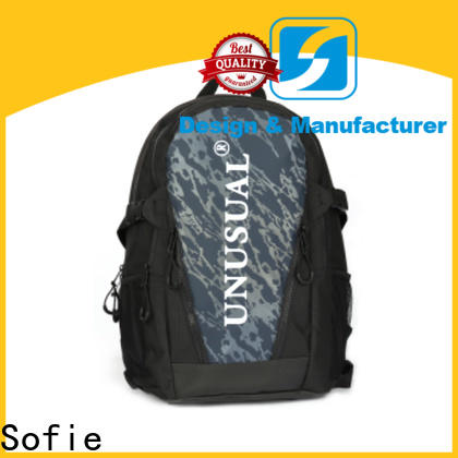 Sofie canvas backpack personalized for school