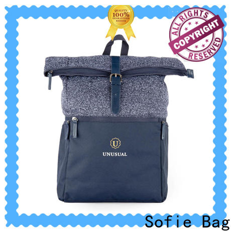 Sofie unique style stylish backpack manufacturer for business