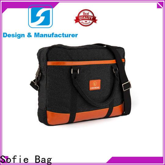 Sofie laptop messenger bags supplier for travel