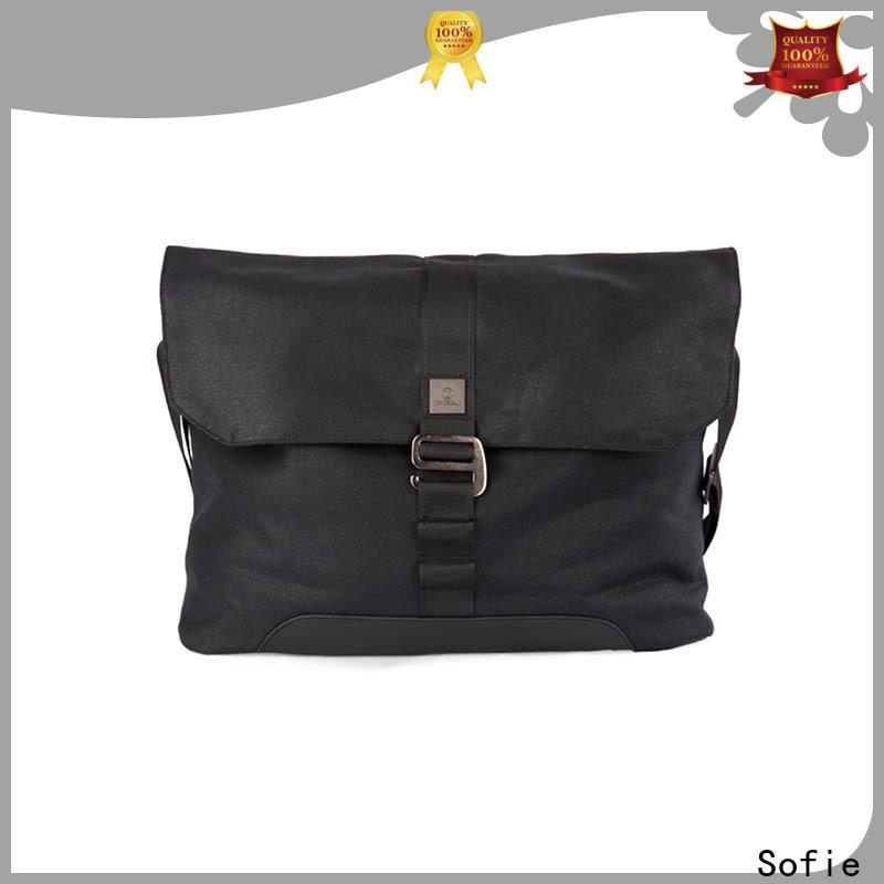 Sofie back pocket laptop messenger bags supplier for travel