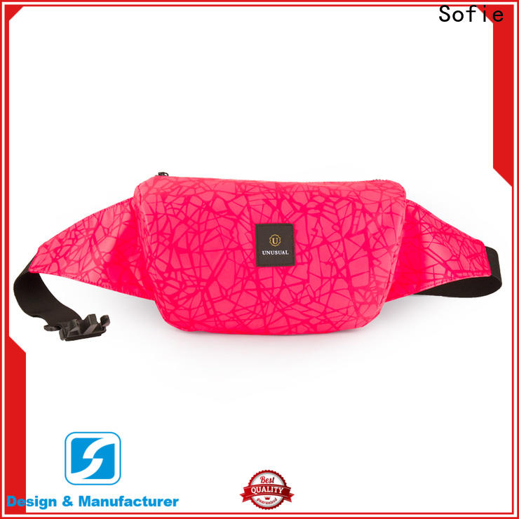Sofie trendy waist pouch supplier for decoration