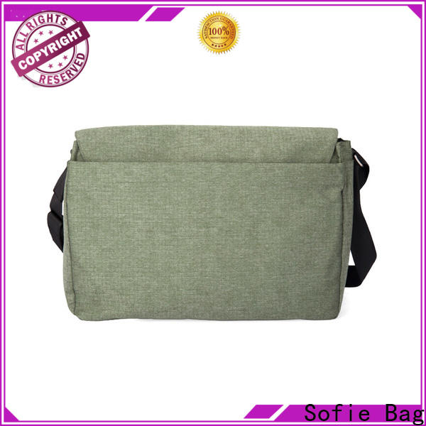 Sofie classic style shoulder laptop bag directly sale for travel
