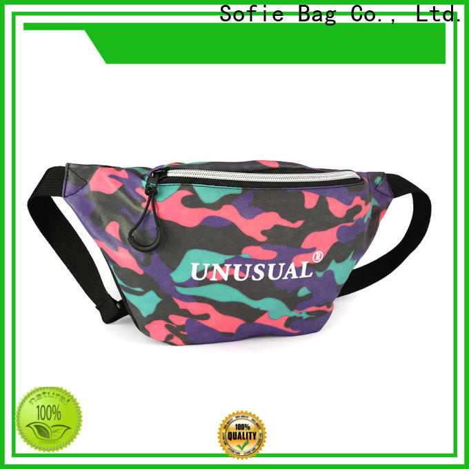 polyester belt waist pouch factory price for jogging