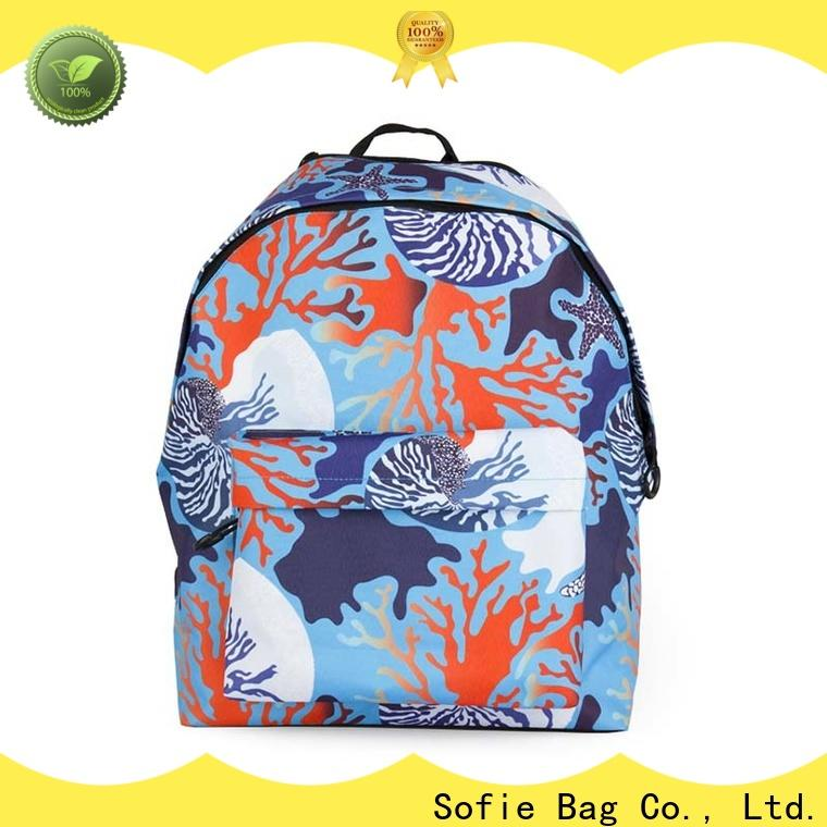 Sofie students backpack manufacturer for packaging