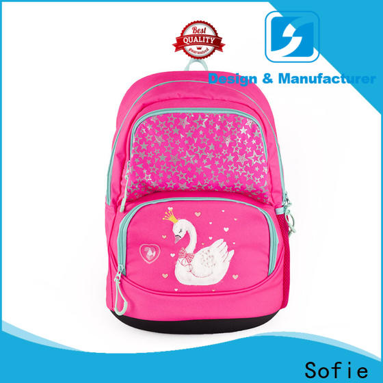 Sofie students backpack customized for kids