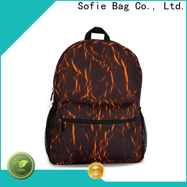 Sofie melange backpack manufacturer for school
