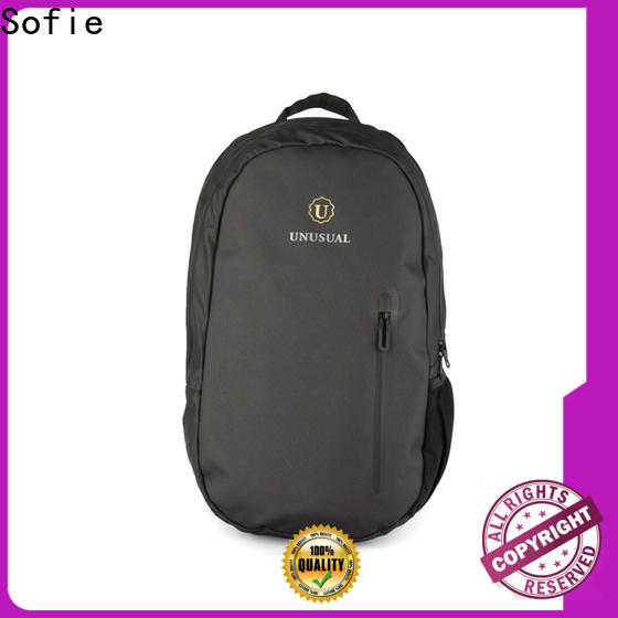 Sofie thick pipped handle laptop business bag factory direct supply for men