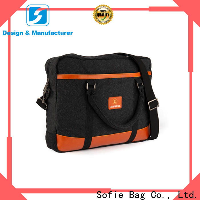 Sofie thick pipped handle laptop business bag wholesale for office