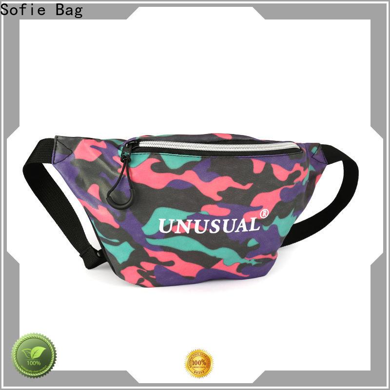 trendy waist bag for jogging