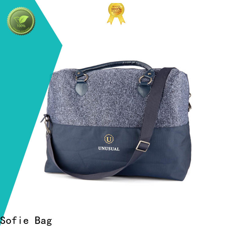 Sofie knitted fabric travel bags for women wholesale for business
