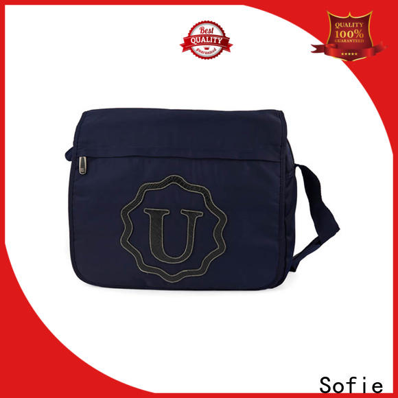 Sofie knit fabric business briefcase bag supplier for office