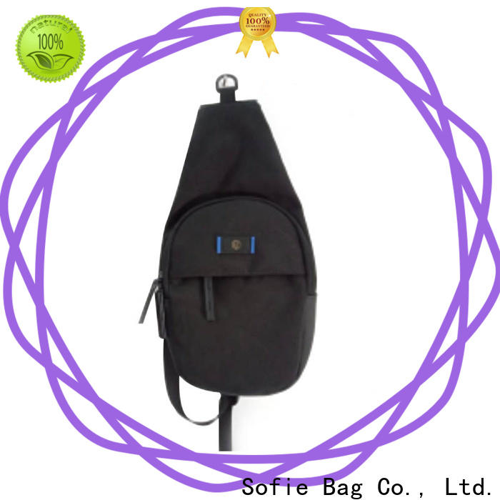 Sofie camouflage chest bag customized for going out
