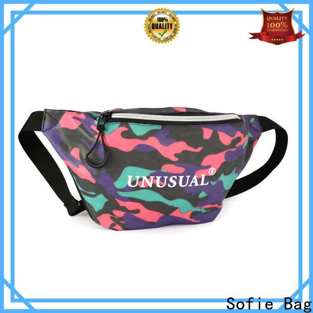 polyester belt sport waist bags manufacturer for jogging